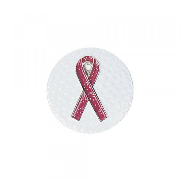 navica CL002-28 Basic Ballmarker - Pink ribbon
