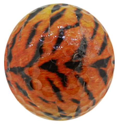 """Designer-Golfbälle 3er Pack """"Tiger"""""""