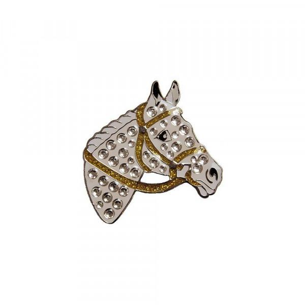 navica CL006-99 Crystal Ballmarker - Horsehead