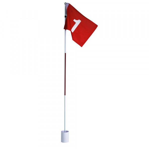 Silverline Golfloch mit Fahne