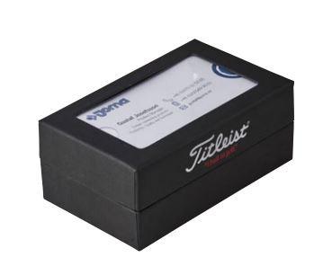 Titleist 2-Ball Visitenkartenbox