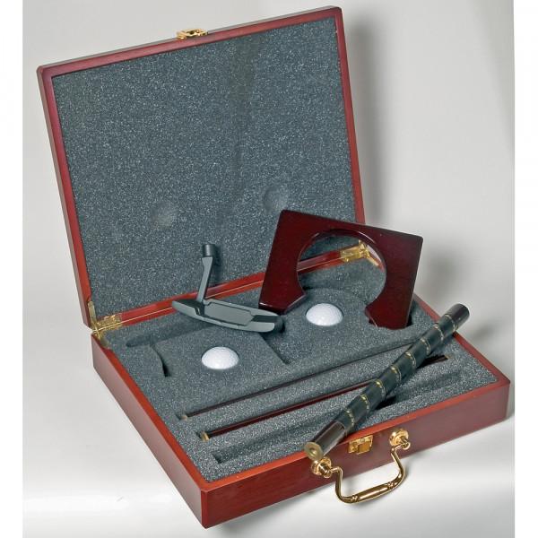 Golftech Geschenkbox Holzkoffer