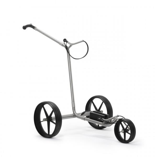 TiCad Goldfinger Elektro- Golftrolley mit GFK Rädern