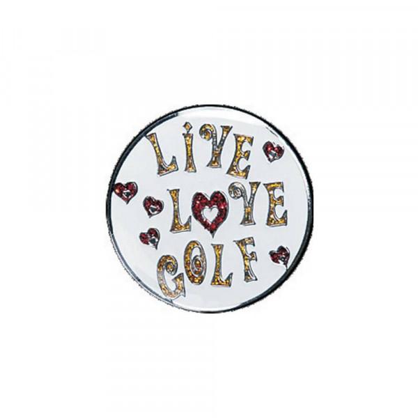 navica CL004-40 Glitzy Ballmarker - Live Love Golf