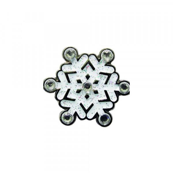 navica CL004-32 Glitzy Ballmarker - Xmas Snowflake