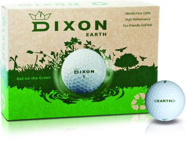 Dixon Earth Golfball 12 Dutzend