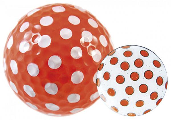 """Navika Geschenkset Golfball und Marker """"Polka Dot orange"""""""