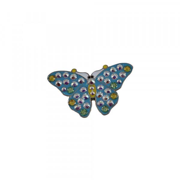 navica CL006-102/103/104 Crystal Ballmarker - Butterfly (front)