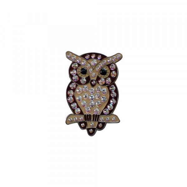 navica CL006-98 Crystal Ballmarker - Owl