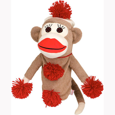 Daphnes Headcover für Driver & Fairway - Monkey Made of Sockies