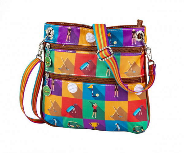 Championship round Collection Crossbody
