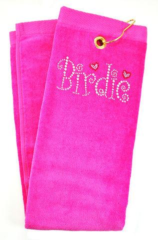 navica T5105-10 Crystal Embellished Handtuch - Birdie