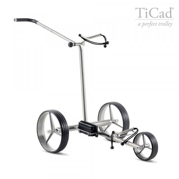 TiCad Liberty Elektro- Golftrolley mit Titan Rädern