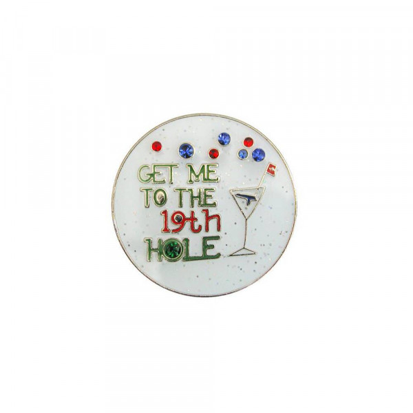 navica CL004-15 Glitzy Ballmarker - 19th Hole