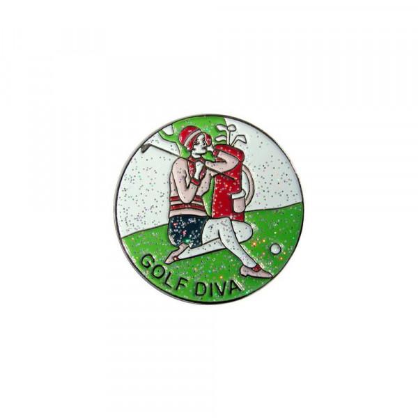 navica CL004-06 Glitzy Ballmarker - Golf Diva