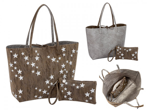 Catch a star Collection Wendeshopper-Taschen-Set