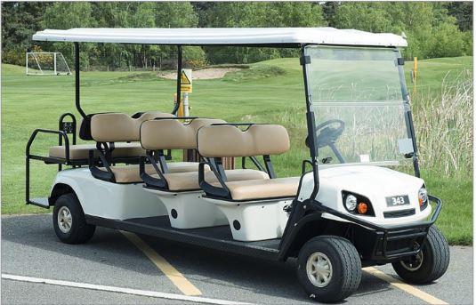 E-Z-GO SHUTTLE EXPRESS L8 Elektro Golfcart