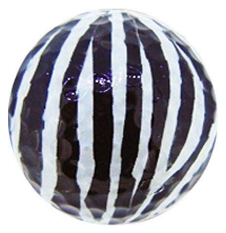 """Designer-Golfbälle 3er Pack """"Zebra"""""""