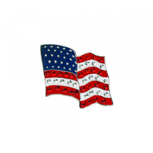 navica CL006-37 Crystal Ballmarker - Flag USA flying