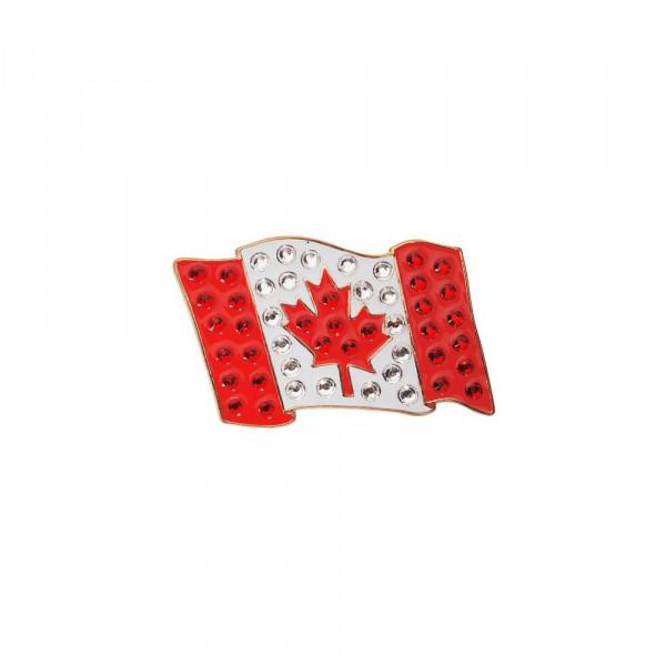 navica CL006-39 Crystal Ballmarker - Flag Canada