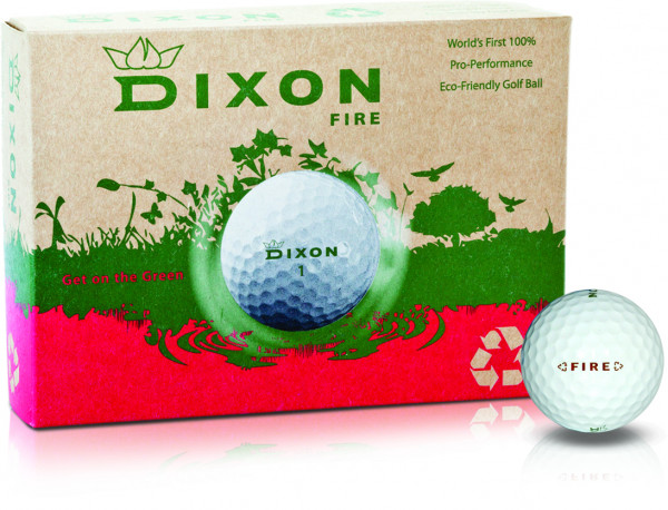 Dixon Fire Golfball 12 Dutzend