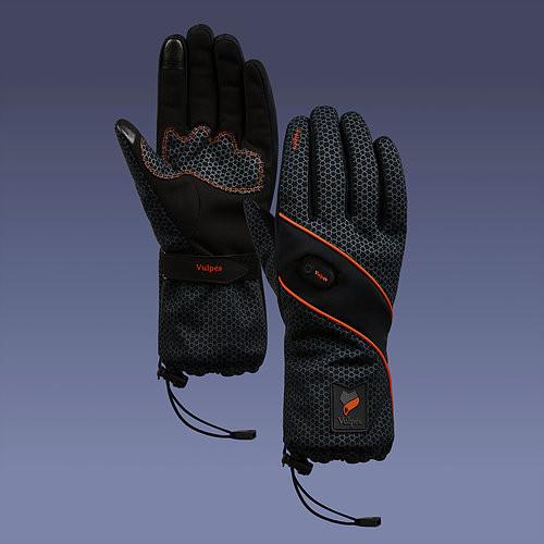 Vulpes MOONTOUCH - Beheizbare Handschuhe (Cadmium Orange)