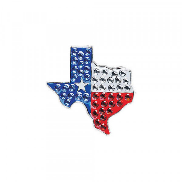 navica CL006-66 Crystal Ballmarker - Flag Texas