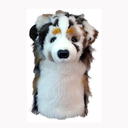 Daphnes Headcover für Driver & Fairway - Australian Shepherd