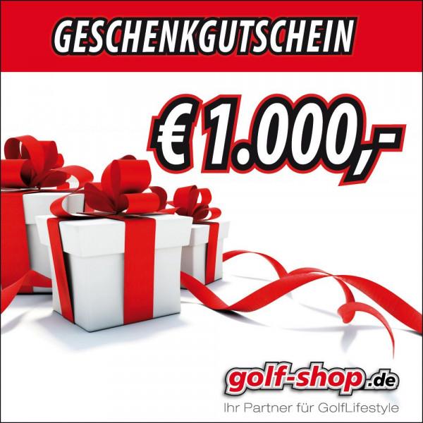 Geschenkgutschein € 1000