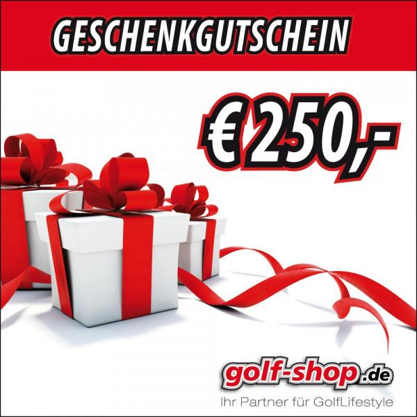 Geschenkgutschein € 250