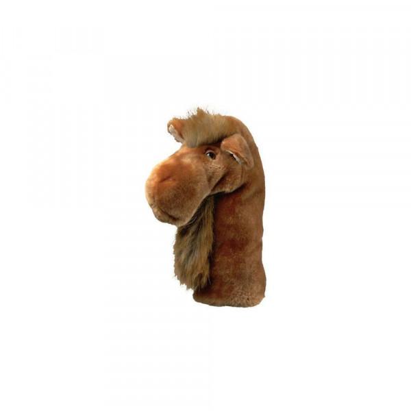 Daphnes Headcover für Driver & Fairway - Camel
