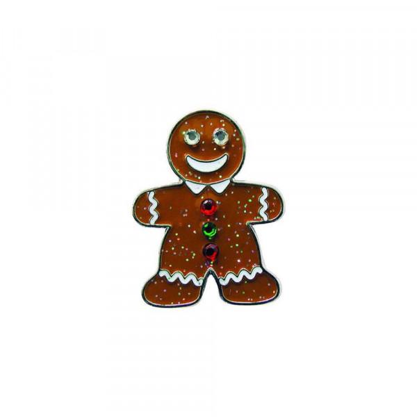navica CL004-36 Glitzy Ballmarker - Xmas Gingerbread