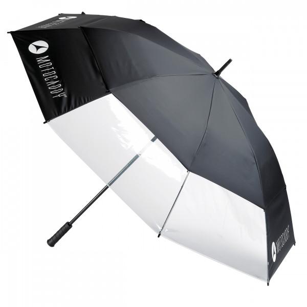 Motocaddy Clearview Regenschirm mit Sichtfenster