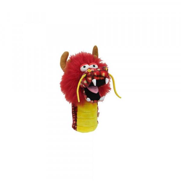 Daphnes Headcover für Driver & Fairway - Dragon Red