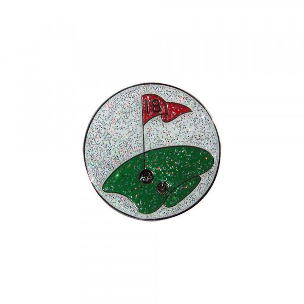 navica CL004-11 Glitzy Ballmarker - 18th Hole
