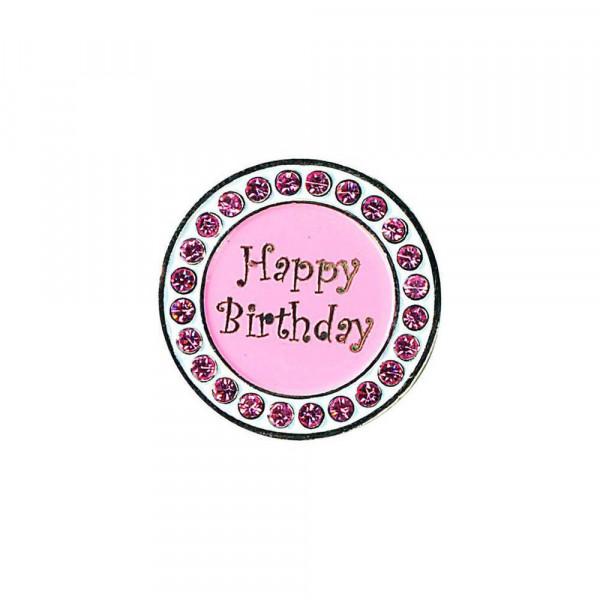 navica CL006-18 Crystal Ballmarker - Happy Birthday