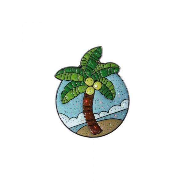 navica CL004-17 Glitzy Ballmarker - Palm Tree
