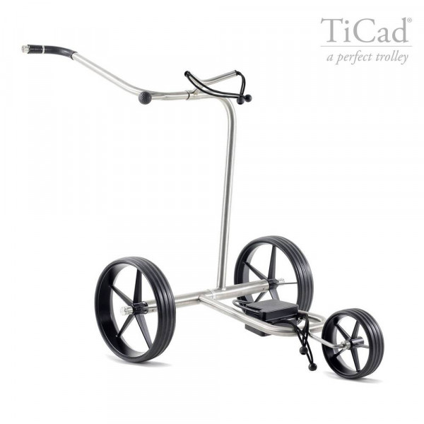 TiCad Tango Elektro- Golftrolley mit GFK-Räder