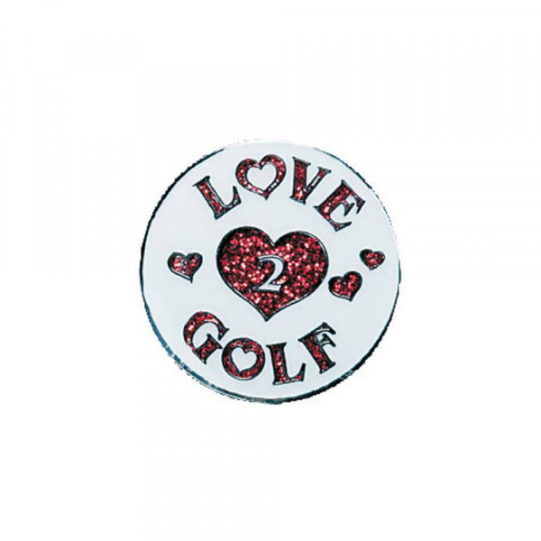 navica CL004-39 Glitzy Ballmarker - Love 2 golf