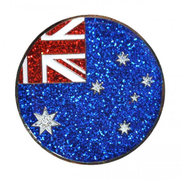 navica CL004-65 Glitzy Ballmarker - Australian Flag