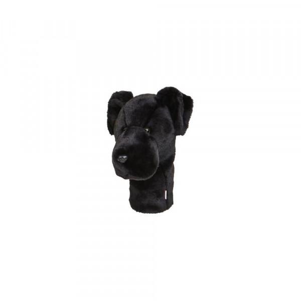 Daphnes Headcover für Driver & Fairway - Black Labrador