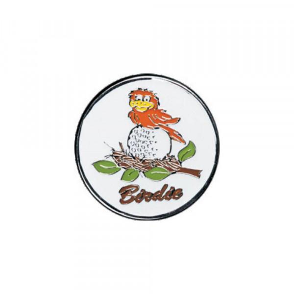 navica CL002-25 Basic Ballmarker - Birdie on the ball