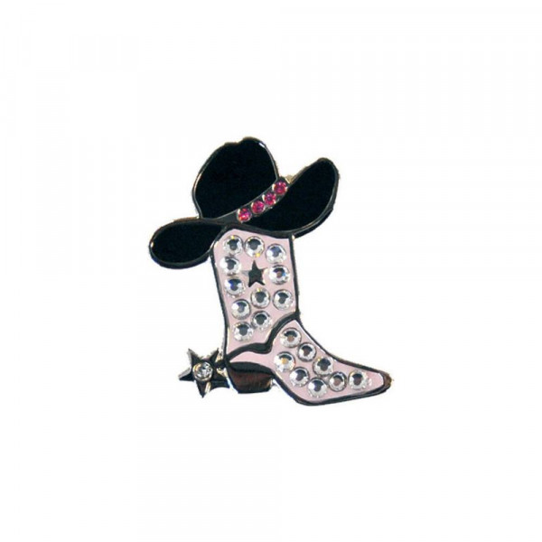 navica CL006-92 Crystal Ballmarker - Cowgirl Boot pink