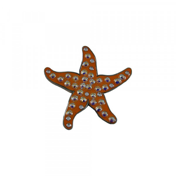 navica CL006-108 Crystal Ballmarker - Starfish
