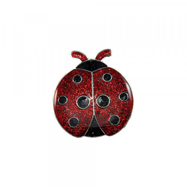 navica CL004-61 Glitzy Ballmarker - Ladybug
