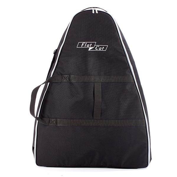 Flat Cat Trolley Bag