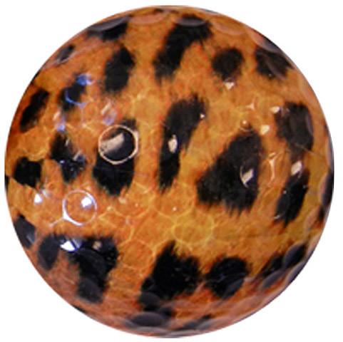 """Designer-Golfbälle 3er Pack """"Leopard"""""""