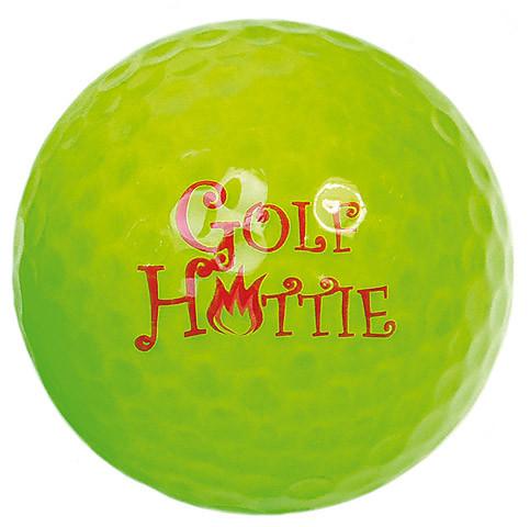 "Designer-Golfbälle 3er Pack ""Golf Hottie neon-grün"""