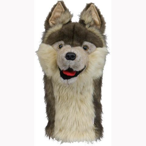 Daphnes Headcover für Driver & Fairway - Wolf