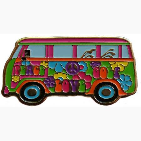 navica CL002-337 Basic Ballmarker - Peace Love Golf Van
